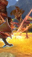 MHSP-Veteran Yian Kut-Ku and Rathalos Screenshot 001