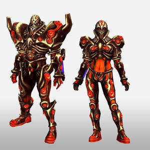 FrontierGen-Genome Armor 003 (Both) (Front) Render