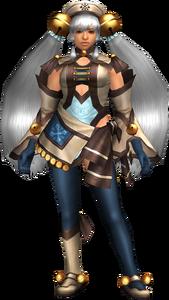 FrontierGen-Hiten Armor (Female) (Both) (Front) Render 003