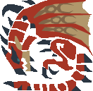 File:MH10th-Rathalos Icon.png