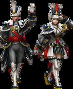 FrontierGen-Poborumu Armor (Blademaster) Render 2