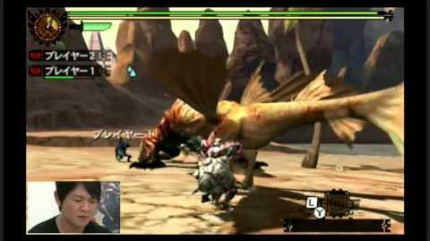 Monster Hunter 4G - Tigerstripe Zamtrios - Hammer Demo Gameplay