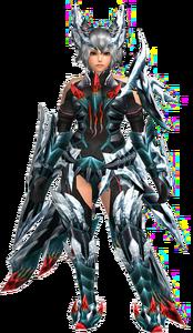 FrontierGen-Guranu Armor (Both) (Female) Render 001