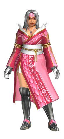 File:FrontierGen- Kurenai Ro Armor (Female) (Both) (Front) Render 001.jpg