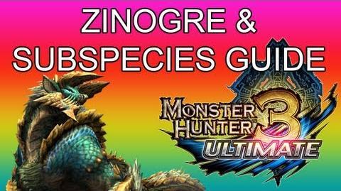 Monster Hunter 3 Ultimate - G2★ Zinogre & Stygian guide ジンオウガ亜種-0