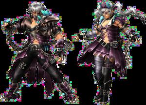 FrontierGen-Bronte Armor (Both) Render 2