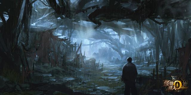 File:MHO-Dark Veil Forest Concept Art 007.jpg