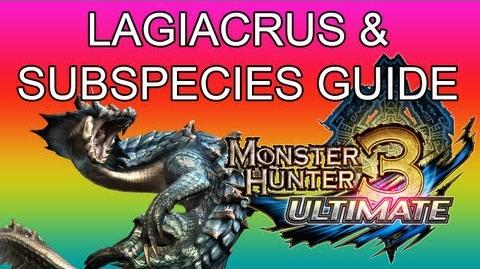 Monster Hunter 3 Ultimate - G2★ Lagiacrus & White Land guide ラギアクルス亜種-0