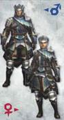 MH3U Baggi Armor (Blade)