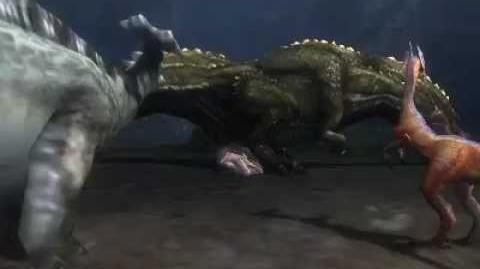 Monster Hunter 3 (Tri) G - The Great Devourer (Deviljho intro)