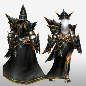 FrontierGen-Meragi Armor (Gunner) (Back) Render
