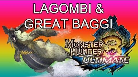 Monster Hunter 3 Ultimate - G1★ Lagombi & Great Baggi guide ウルクスス ● ドスバギィ-0