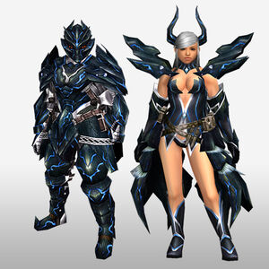 FrontierGen-Robasuto Armor (Both) (Front) Render