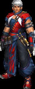 FrontierGen-Hiten Armor (Male) (Both) (Front) Render 002