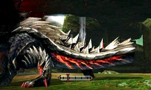 MH4U-Stygian Zinogre Tail Break 002