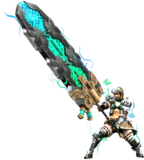 MHXR-Great Sword Equipment Render 002