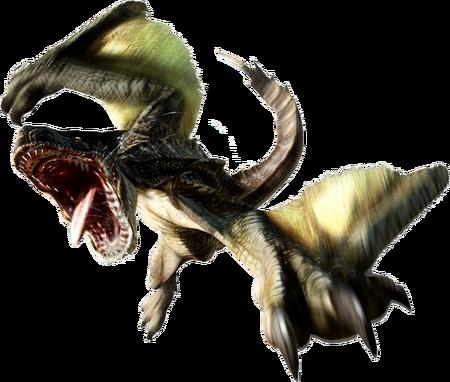 MH4-Brute Tigrex Render 001