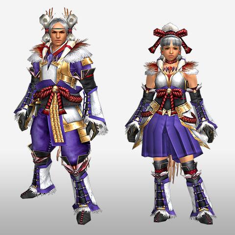 File:FrontierGen-Kagura G Armor (Blademaster) (Front) Render.jpg