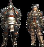MH4U-Gypceros Armor (Blademaster) Render 001