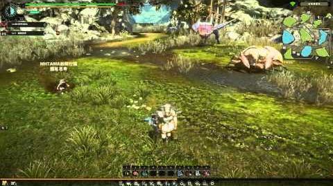 Monster Hunter Online (MHO) Yian Garuga Gameplay