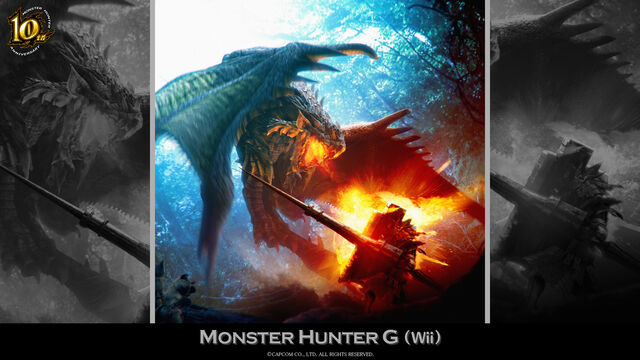 File:MH 10th Anniversary-Monster Hunter G Wallpaper 002.jpg
