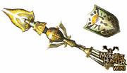 Platinum Crown Gunlance