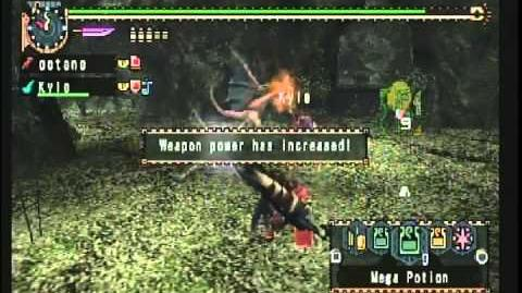 Monster Hunter Freedom Unite - G2★ Online Quest At Birds' Hill..