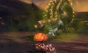 MH3G-Uragaan Subspecies Screenshot 01