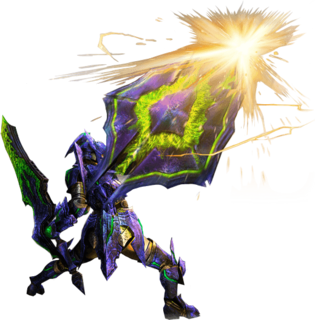 MH4U-Charge Blade Equipment Render 001