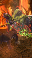 MHSP- Veteran Brachydios and Rajang Screenshot 001