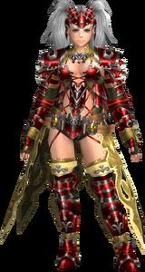 FrontierGen-Amista Armor (Female) (Both) (Front) Render 004