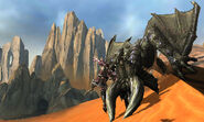MH4U-Black Diablos Screenshot 001