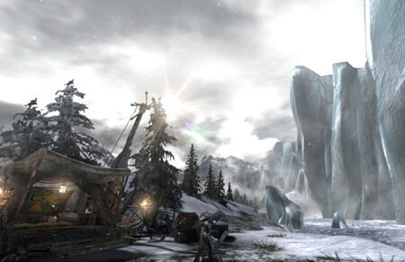 FrozenLand-basecamp