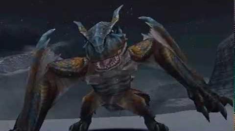 Monster Hunter Freedom Unite - The Tyrant Tigrex (Tigrex intro)