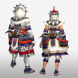 FrontierGen-Burango G Armor (Blademaster) (Back) Render