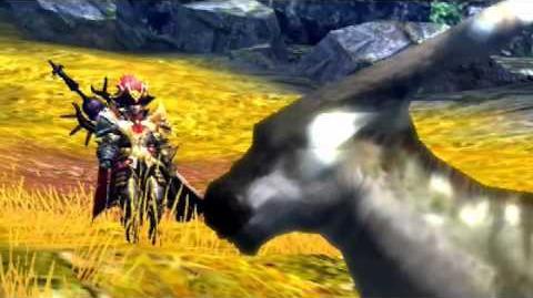 Kogath - Monster Hunter 4 - Aptonoth Intro