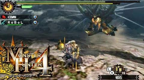 Monster Hunter 4 Nubcakes 03 - Aruserutasu English commentary online gameplay
