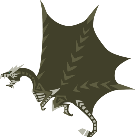 File:MH4U-Kushala Daora Meownster Hunter Render 001.png