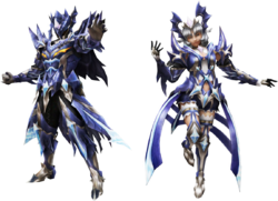 FrontierGen-Azure Emperor Armor (Both) Render 2