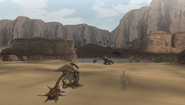 MHFU-Desert Screenshot 002