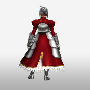 FrontierGen-Knight-King Armor 003 (Female) (Both) (Back) Render