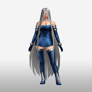 FrontierGen-Gorgon Armor 004 (Female) (Both) (Front) Render