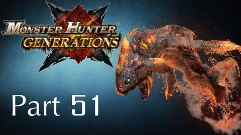 Monster Hunter Generations -- Part 51 Lavasioth - The Lava Wyvern