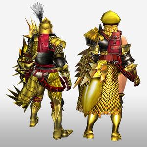 FrontierGen-Luna G Armor (Gunner) (Back) Render