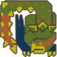 MH3U-Green Nargacuga Icon