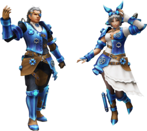 FrontierGen-Bīchi Armor (Both) Render 2