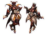 FrontierGen-Diboa Armor (Blademaster) Render 2