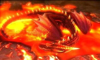 MH4U-Crimson Fatalis Screenshot 005