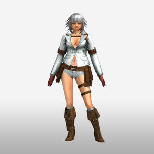 FrontierGen-Lady Armor 002 (Female) (Both) (Front) Render