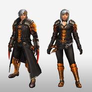 FrontierGen-Espina U Armor (Blademaster) (Front) Render